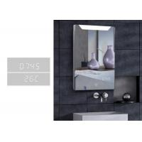 Best Customized Demister LED Bluetooth Bathroom Mirror With Clock And Calendar wholesale