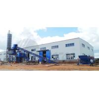 Best Industrial Concrete Batch Mix Plant 1200KG High Power For Stirring Mill wholesale