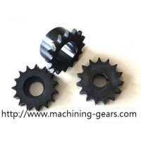 Standard Industrial Chain Sprocket , Stainless Steel Single Plate Wheel Sprocket