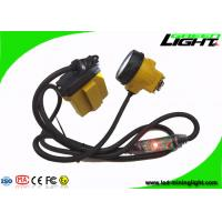 China 3.7V 10.4Ah LED Mining Headlight 25000lux High Beam With Four Lighting Modes on sale
