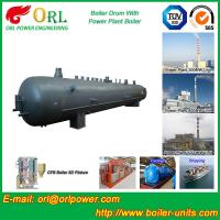 Best 50 T Water Tube Boiler Mud Drum Once Through High Heating Efficiency wholesale