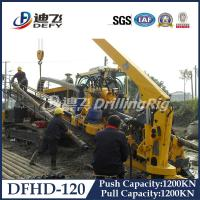 Best Cheap 120T Feeding Capacity soil/rock HDD drilling rig machine DFHD-120 Crawler Mounted wholesale