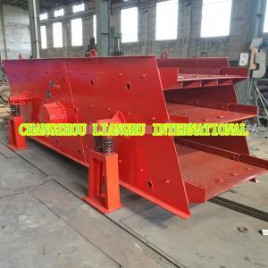 China Sand Screening Equipment Circular Vibrating Screen 18.5 KW 220v To 480v Customized on sale