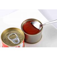 Best Food Nature Puree Canned Tomato Paste Non Additives Canning Tomato Sauce wholesale