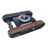 Best 1.5 ton rubber track undercarriage with slew drive wholesale