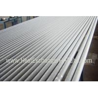 Best A249 TP304 / TP304L Welded Tube , Extruded Solid  Fin Stock For Heat Exchangers wholesale