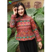 Best Cotton Padded Chinese Embroidered Blouses wholesale