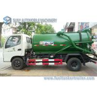 Quality Foton Small 4x2 3m3 To 4m3 Sewage Suction Tanker Truck , Sewage Disposal drainage septic tank wholesale