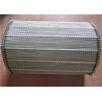 Best Spiral Wire Mersh Stainless Steel Conveyor Belt For Drying Ovens wholesale