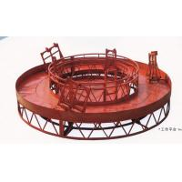 Best OEM Red Rounded Lifting Suspended Working Platform for Cleaning Building wholesale