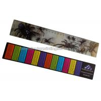 Best PET / PP Printing Customised 3d Lenticular Ruler For Student Flip Effect wholesale