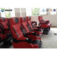 Best Genuine Leather 5D Movie Theater Electronic System Chair Metal Flat Screen wholesale