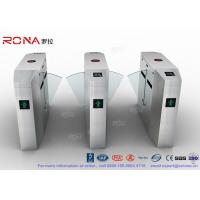Cheap Anti - Reverse Retractable Turnstile Barrier Gate RS232 / RS485 550mm Passage for sale