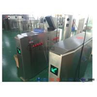 Best 3 Lanes Swing Barrier Gate Card Collector For Biometric Access Control With Face Recognition System wholesale