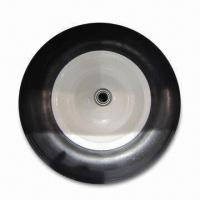 Best 400-8 PU Wheel, Flat Free Tires of Wheelbarrow, Durable, Steel Rim with Ball Bearing wholesale