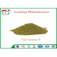 Best Army Uniform Natural Indigo Powder  C I Vat Green 8 khaki 2G CAS 14999-97-4 wholesale