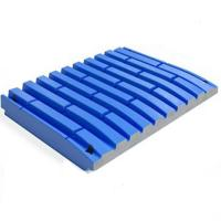 Buy cheap Corrosion Resistence Jaw Plate Crusher Parts , High Manganese Steel  Crusher Parts from wholesalers