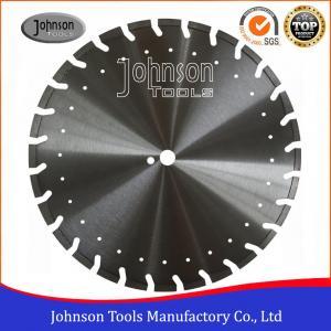 Best Professional Asphalt Saw Blades / Asphalt Cutter Wheel With Decoration Holes wholesale