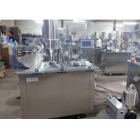 China Improved Type Semi-auto Capsule Filling Machine WIth Touch Screen Operation High Precision For Powder Or Pallet on sale