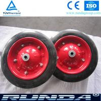 Best Durable Solid Rubber Wheel for South Africa Wheelbarrow wholesale