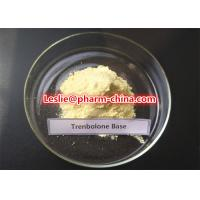 Best 99.5% Purity Muscle Building Trenbolone Base Powder 10161-33-8 Light Yellow Injectable Steroid Powder wholesale
