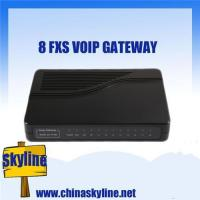 Best 8 FXS VOIP Gateway, support ATA, H.323& SIP wholesale