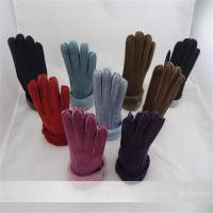 Best real sheepskin gloves handmade nice leather popular lady gloves wholesale