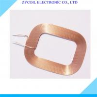 Cheap Toroid Air Core Inductor Self-Bonding Copper Wire Coil 1.2mm With High Current for sale