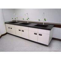 Cheap Heavy Duty Science Lab Tables With Sinks / School Chemistry Lab Bench for sale