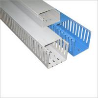 Cheap Installation Square PVC cable trunking / duct with high impact resistance for for sale