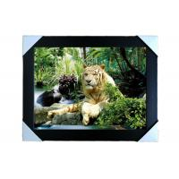 Cheap PS Frame Stock  3D PET Lenticular Printing Services Wall Decorative Picture for sale