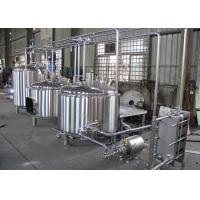Best Semi-Automatic Craft Beer Brewing Equipment Mirror Polish Inner Surface wholesale