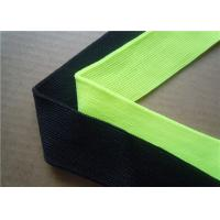 Best Blue Plain Woven Jacquard Ribbon Elastic , Decorative Trim Ribbon wholesale