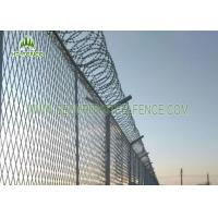 Best PVC Coated 4.0mm Wire Welded Mesh Fence Waterproof With SHS 60 × 60mm Post wholesale