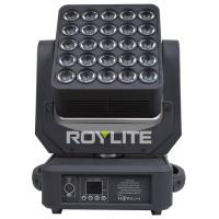 RGBW 15w 5 X 5 Matrix 6° Led Moving Head Wash For Stage Lighting
