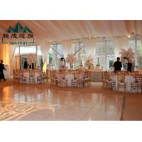Best Large Outdoor Party Tents Waterproof Clear Span For Wedding Celebrations wholesale