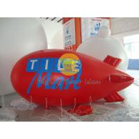Best Customized Red PVC Inflatable Helium Zeppelin with Total Digital Printing for Parade wholesale