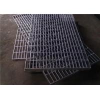 Cheap Hot Dip Galvanized Steel Grating 300 - 1000mm Width 300 - 6000mm Length for sale