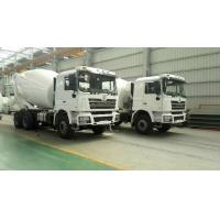 Best SHACMAN Second Hand Concrete Mixer Trucks , Used Concrete Mixer 99 Km/H Max Speed wholesale