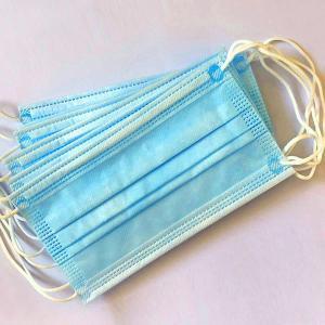 Best Light Blue Anti Spittle Civil Disposable Nose Mask wholesale