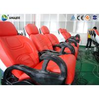 Best 6 Dof Mobile Theater Chair , 4d Cinema Custom Motion Control System wholesale