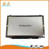 Buy cheap B140XTN06.0 14 inch HD LCD Screen Panel with edge , lcd laptop screen from wholesalers