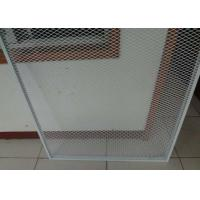 Best 2mm Thickness Expanded Metal Sheet Galvanized Powder Coated Guard 96inch * 27ft For Window Door wholesale