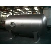 Best Stationary Horizontal Nitrogen Stainless Steel Tanks And Pressure Vessels wholesale