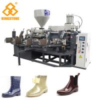 Best PLC Control Plastic Shoes Making Machine For Short lady's Fashion Boots / Slipper / Sandals wholesale