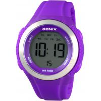 details of cool purple womens digital watches with alarm