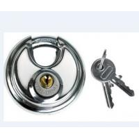 Best stainless steel 304, 201 discus padlock used in vending machine, store front roll up gate wholesale