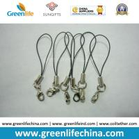 Best Standard Nylon Black String Loop with Mini  Lobster Clasp for Attaching Pendants wholesale