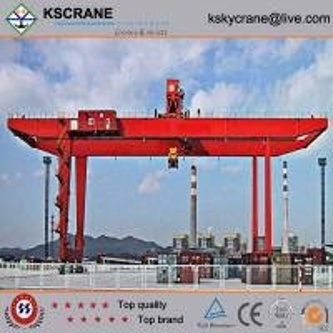 Best Manufacturer Direct Sale Double Girder Rubber Tyre Gantry Crane/Tyre Mounted Crane wholesale