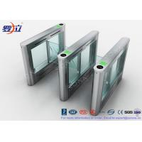 Best RFID Card Reader Pedestrian Barrier Gate Access Control System DC24V Brush Motor wholesale